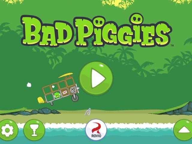 Bad Piggies est disponible sur iOS et Android
