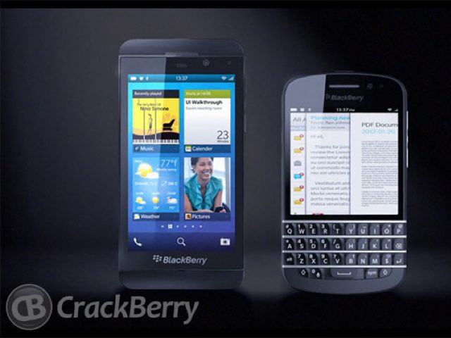 BlackBerry 10 : des photos du L-Series et du N-Series