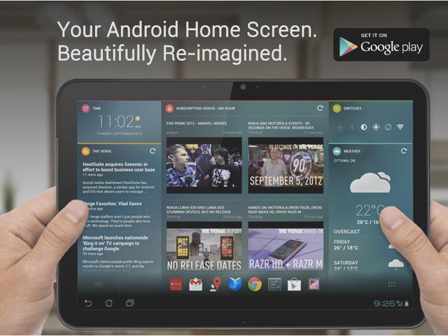 Chameleon est disponible pour les tablettes Android