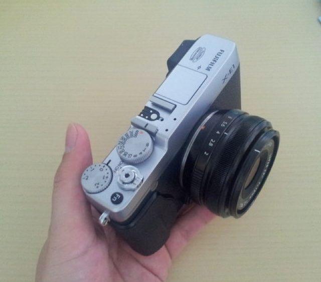 Fujifilm X-E1 : les spécifications et une vidéo pour couronner le tout