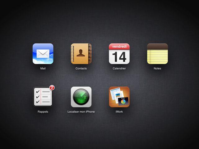 iCloud.com : quelques nouveautés sympathiques