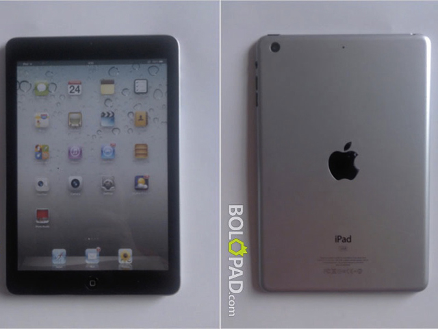 iPad Mini : de nouvelles photos ?