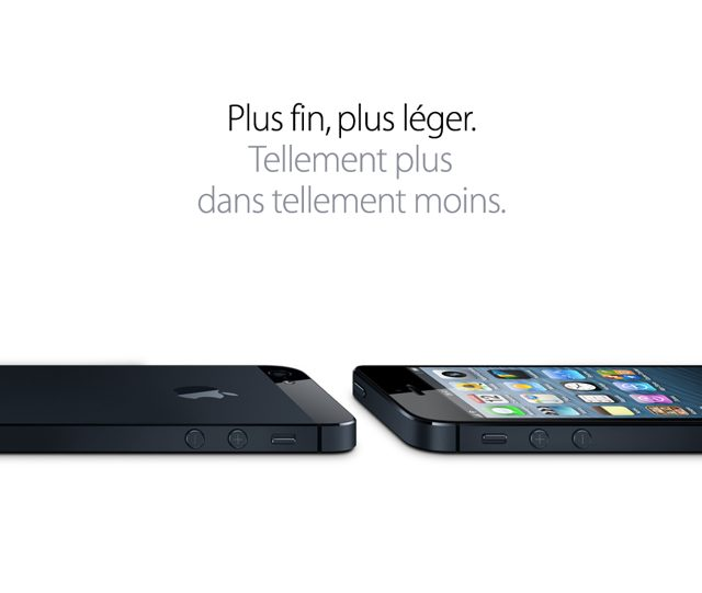 iPhone 5 : plus grand, plus rapide et sans surprise