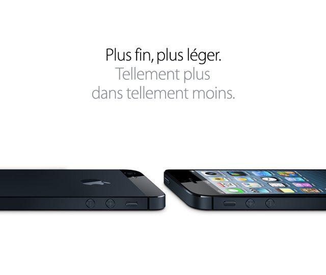 iPhone 5 : plus grand, plus rapide et sans surprise