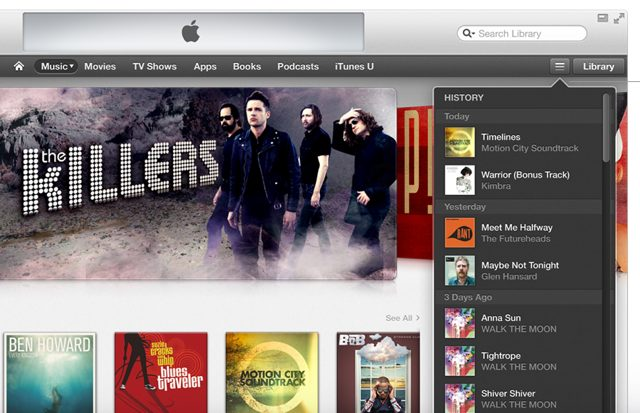 iTunes 11 : nouvelle version pour le mois d'octobre