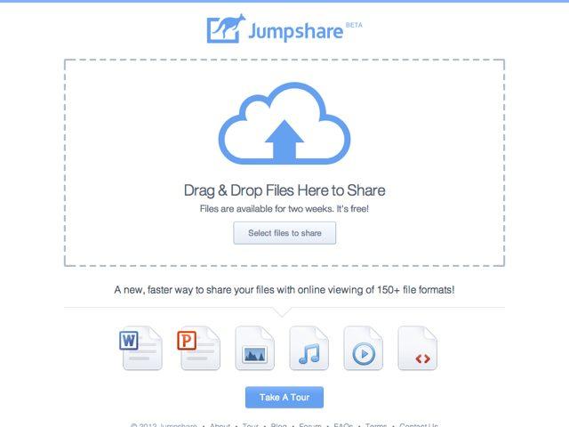 Jumpshare, pour partager n'importe quel fichier en un clic