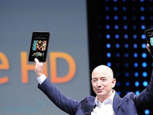Amazon : un Kindle Paperwhite et deux Kindle Fire 2 HD