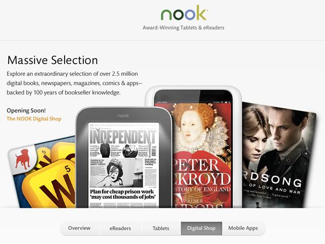 Barnes & Noble présente le Nook HD et le Nook HD+