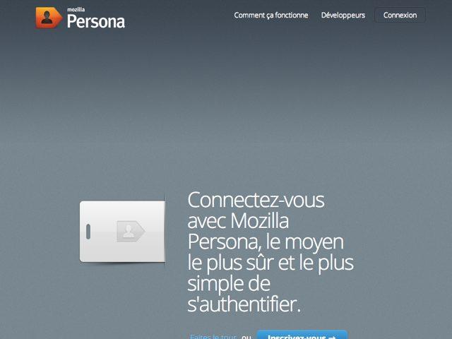 Persona : l'identification universelle par Mozilla