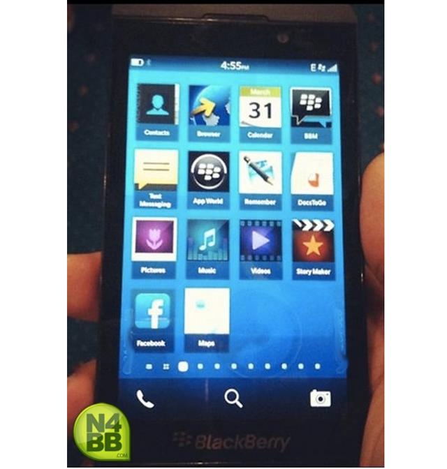 BlackBerry 10 L-Series : une première photo !