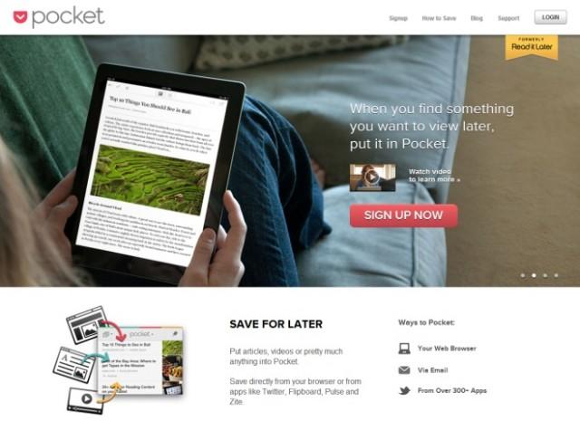 Pocket peut maintenant lire les articles sauvegardés