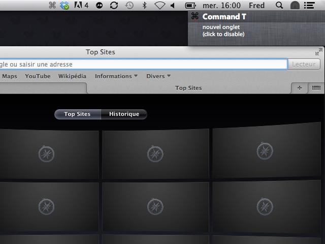 EVE, une application pour apprendre à utiliser les raccourcis clavier de Mac OS