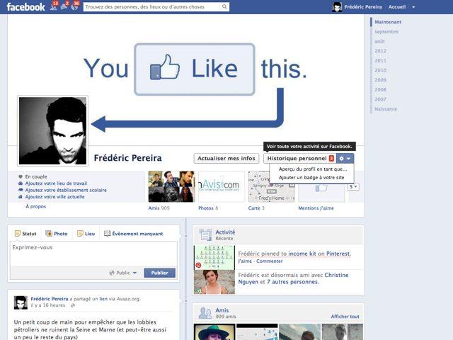 Facebook : vos recherches vont bientôt apparaître dans votre historique personnel