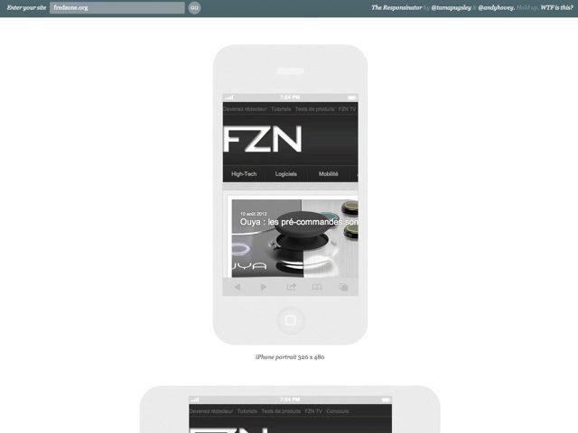 Responsinator : à quoi ressemble mon site sur les smartphones et les tablettes ?