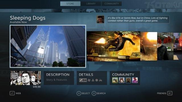 Steam : Big Picture, c'est pour aujourd'hui