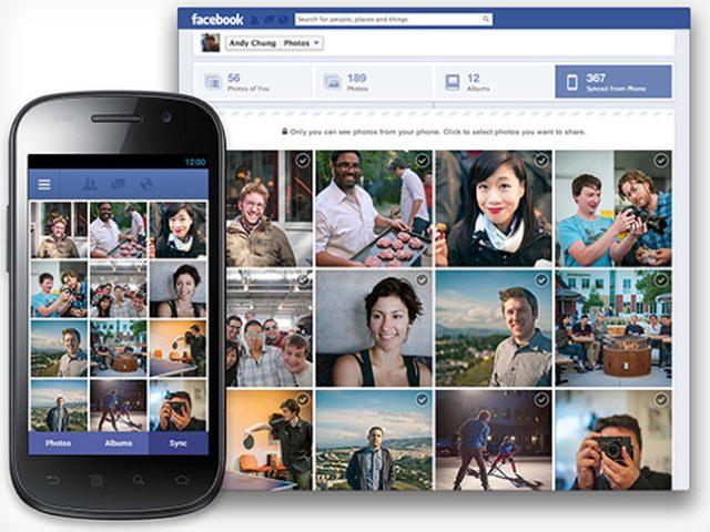 Facebook : la synchronisation automatique pour les photos sur Google Android