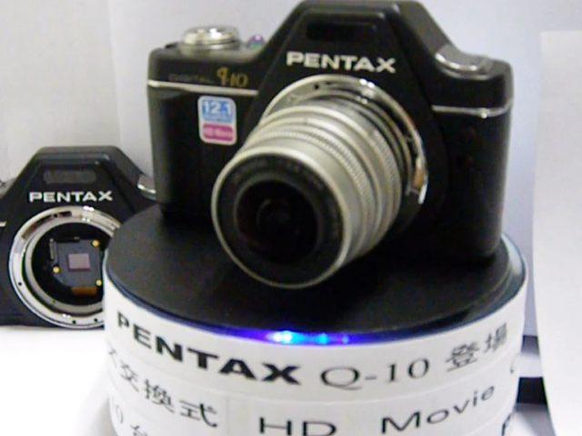 Pentax Q10 : la vidéo du nouvel hybride de Pentax