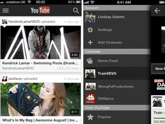 YouTube : la nouvelle application disponible sur iOS