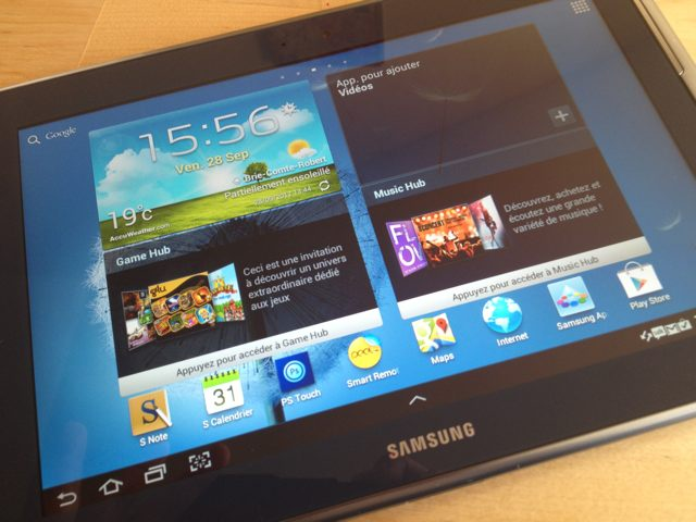 Test : Samsung Galaxy Note 10.1