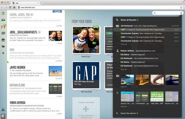 Alto : AOL se lance dans un nouveau webmail