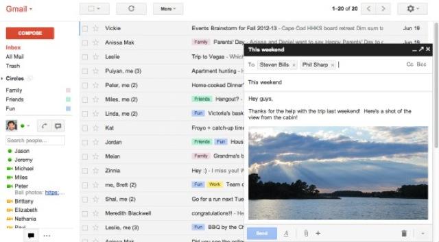 Gmail : de grosses améliorations pour la composition des messages