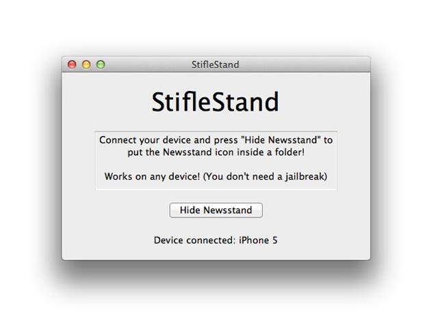 iOS : cacher le Kiosque sans jailbreak et en quelques secondes