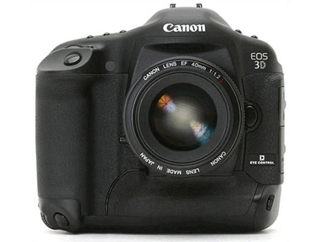 Canon EOS 3D : une apparition remarquée au catalogue de B&H