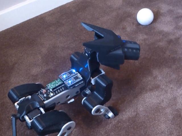 E.R.I.C, le robot-chien qui finira fatalement par contrôler le monde