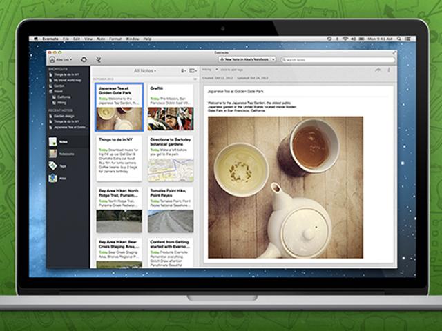 Evernote 5.0 pour Mac OS se dévoile en vidéo