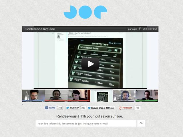 Joe Mobile : à partir de 10€ par mois et un système de parrainage en prime !