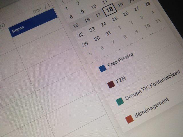 Google Agenda est dispo sur le Play Store !