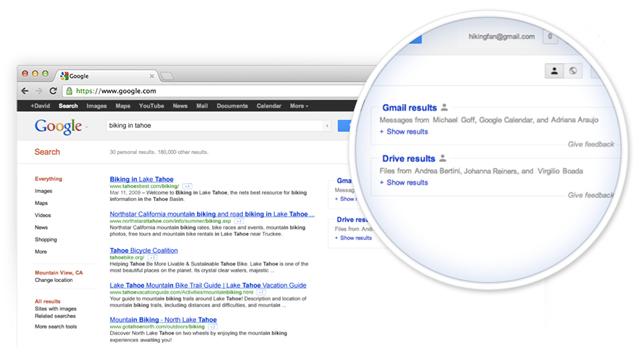 Gmail et Google : intégration de Google Drive à la recherche