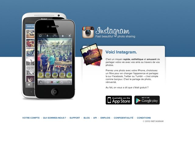 Instagram devant Twitter au mois d'août 2012 ?