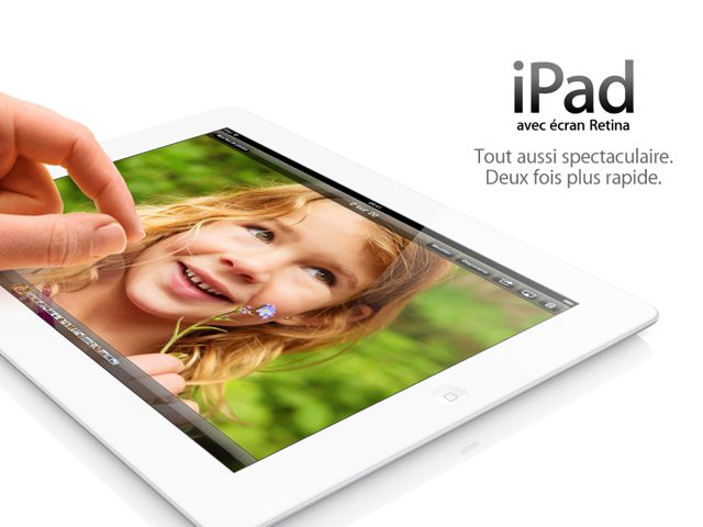 Keynote Apple : l'iPad 4