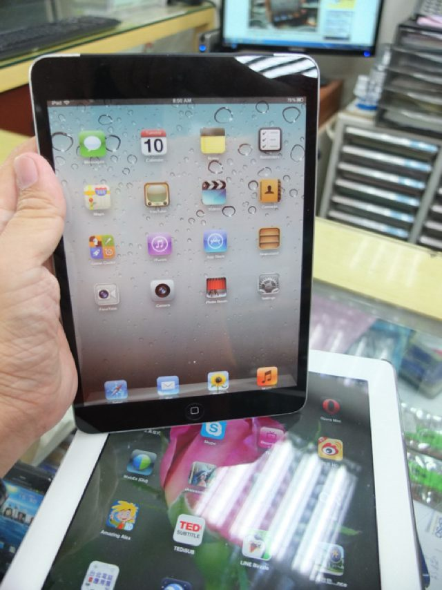 iPad Mini : encore un mock-up pour patienter