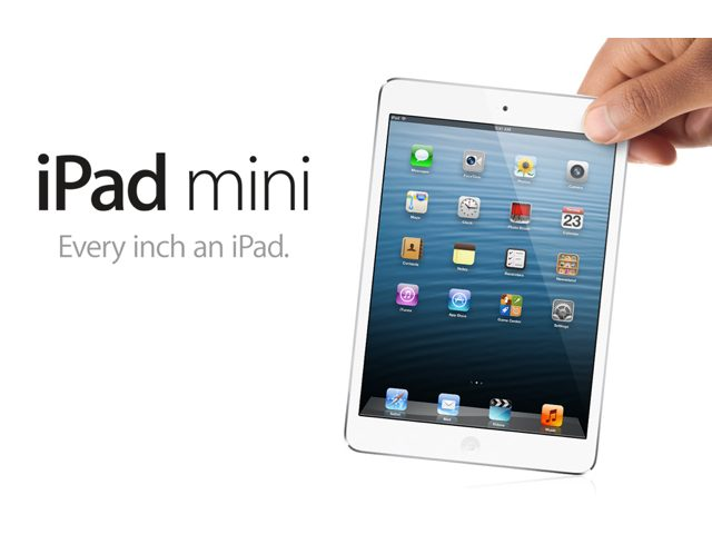 Keynote Apple : l'iPad Mini est officiel !