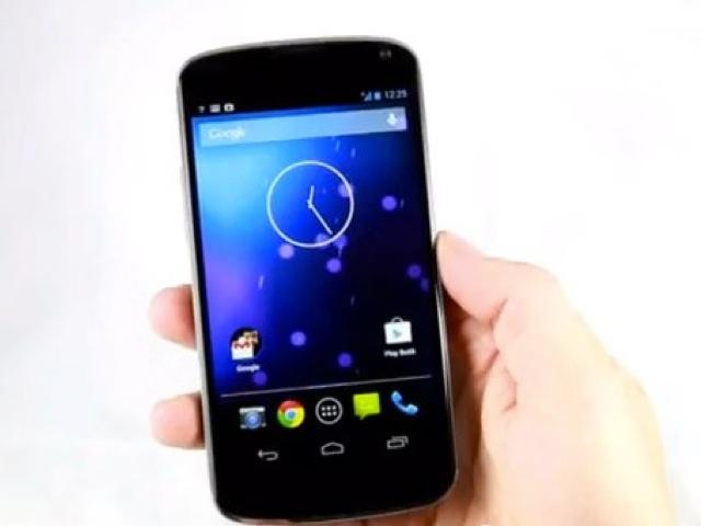 Une vidéo du LG Nexus 4 !