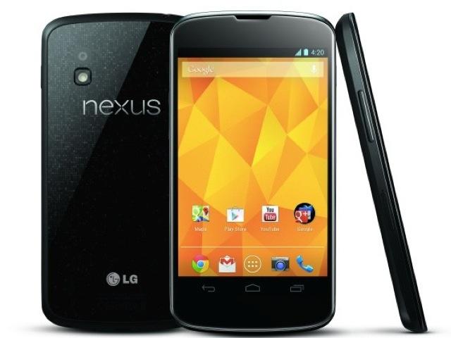 LG Nexus 4 : les spécifications officielles