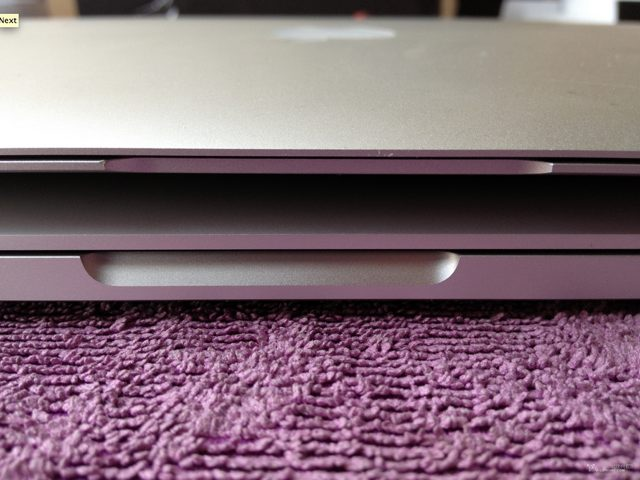Quelques photos du MacBook Pro Retina 13 pouces