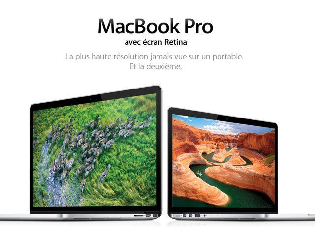 Keynote Apple : le MacBook Pro Retina 13 pouces est officiel !