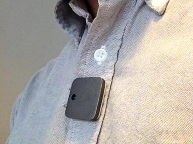 Memoto, la mini caméra qui prend votre vie en photo