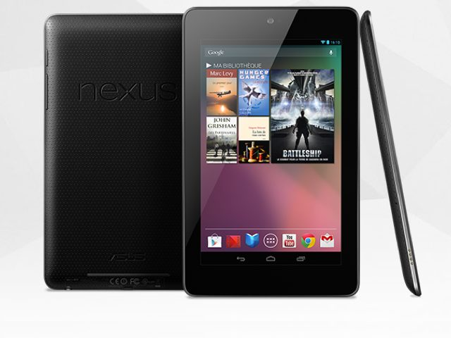 Nexus 7 : le prix de la version 32 Go !