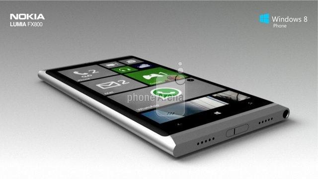 Nokia Lumia FX800 : un concept tout simplement magnifique