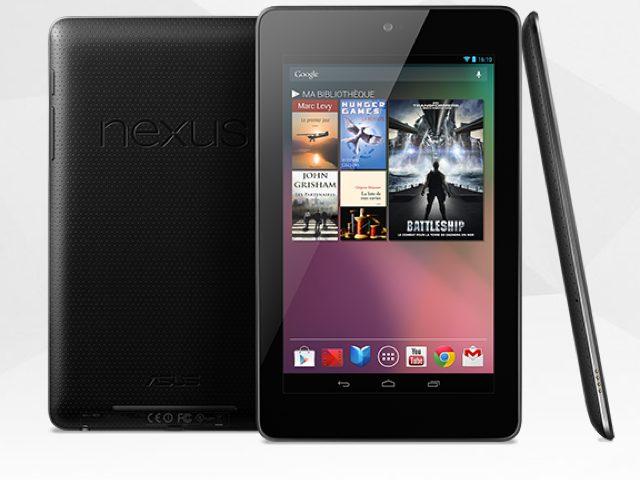 Nexus 7 32Go et Nexus 7 3G : deux nouvelles apparitions !