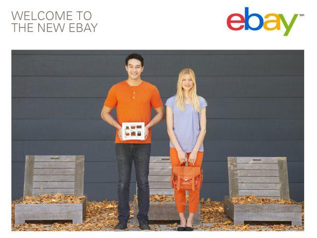 Découvrir la nouvelle version d'eBay