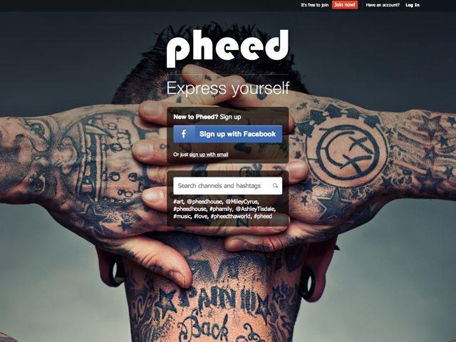 Pheed : un mix entre Twitter et MySpace