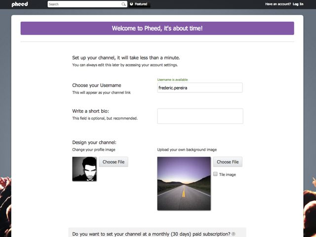 Pheed : un mix entre Twitter et MySpace