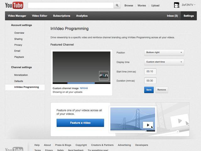 YouTube lance la programmation InVideo pour vous aider à promouvoir vos contenus !