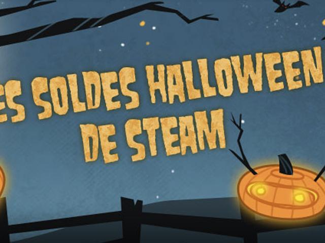 Steam : la valse des soldes pour fêter Halloween