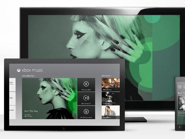 Microsoft : lancement du Xbox Music